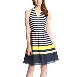 Ted Baker London Sarera Candy Striped Flare Dress